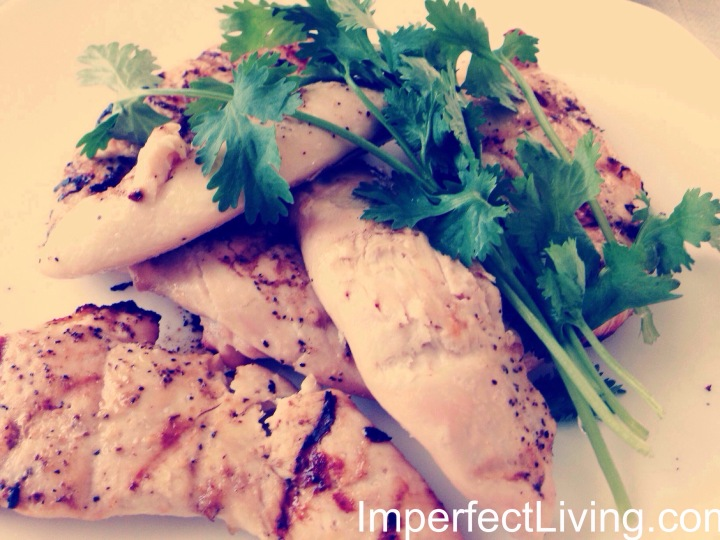 Healthy, quick, citrus grilled chicken tenders