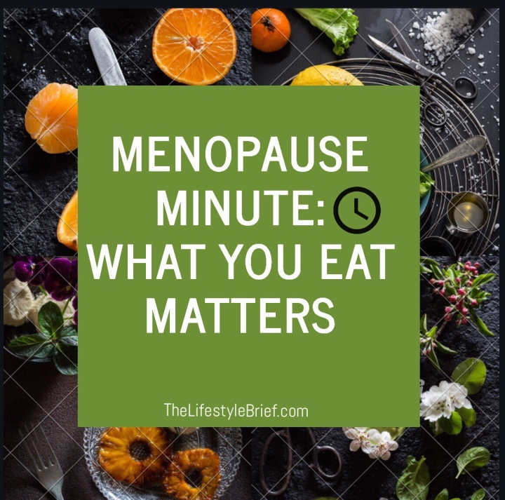 What you eat during menopausematters